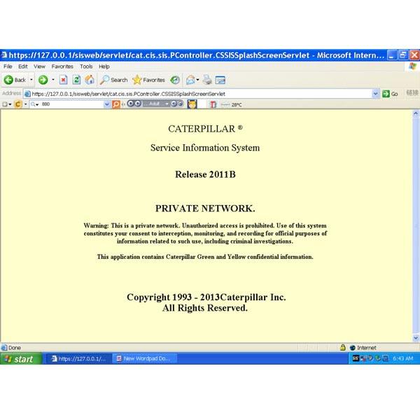 logiciel sis caterpillar gratuit